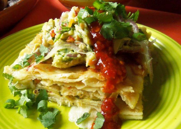 Seafood Enchilada Casserole, photo by Sonia Mendez Garcia