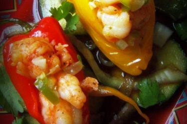 Shrimp-Stuffed Little Chiles, photo by Sonia Mendez Garcia