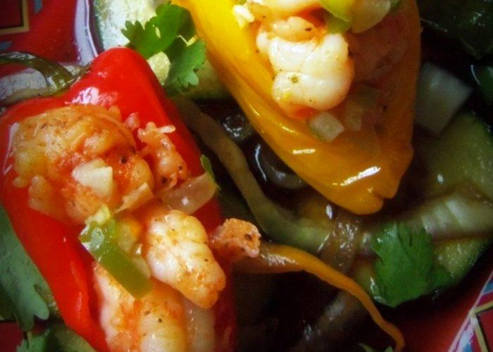 Shrimp-Stuffed Little Chiles, photo by Sonia Mendez Garcia