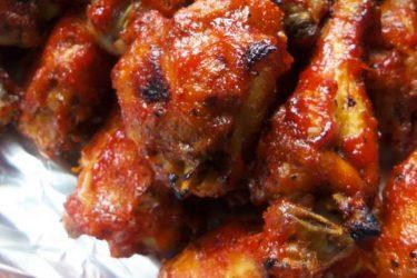 Smoky Sriracha Wings