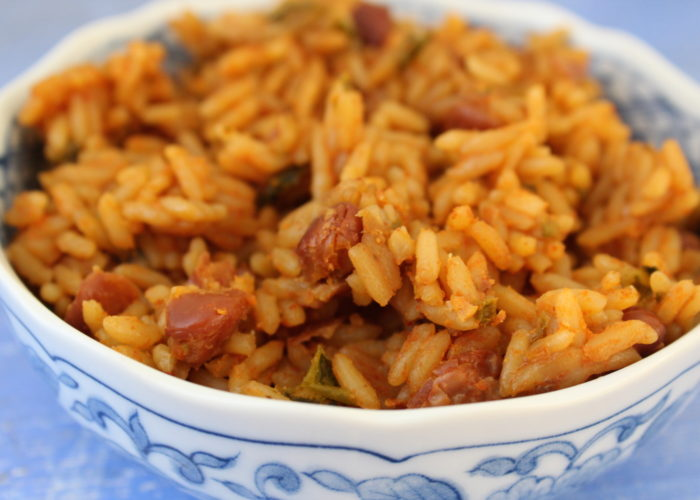 Arroz con Habichuelas, photo by Santiago Gomez de la Fuente