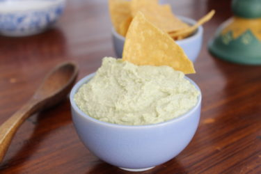 Avocado Hummus Recipe, photo by Fernanda Alvarez