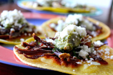 Shredded Beef Chalupas Recipe: Mexican Tortillas & Salsa