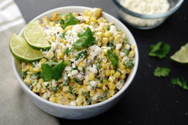 Mexican Corn Salad, photo by Hispanic Kitchen