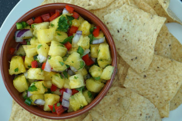 Easy Pineapple Salsa, photo by Nicole Brandt