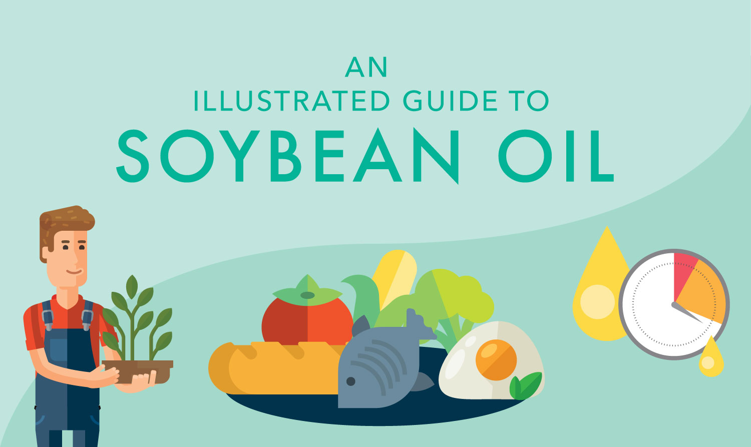 An Illustrated Guide to Soybean Oil, photo by Hispanic Kitchen