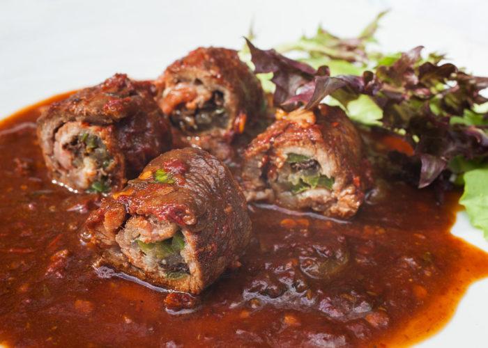 Bistec Enrollado (Beef Roulade), photo by Sonia Mendez Garcia