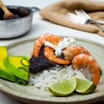 Shrimp and Black Bean Rice