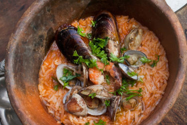 Arroz Caldoso de Mariscos (Seafood Rice)