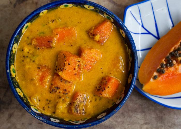 Papaya Curry, photo by Fernanda Alvarez