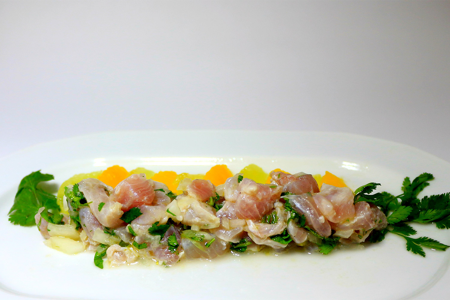 Fish ceviche with tequila hispanic kitchen hispanic for Fish for ceviche