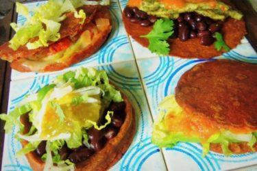 Tortillas, Quesadillas, Gorditas and Sopes: Four Masa Preparations