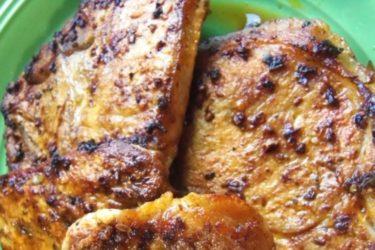 Marinated Pork Chops With Annatto