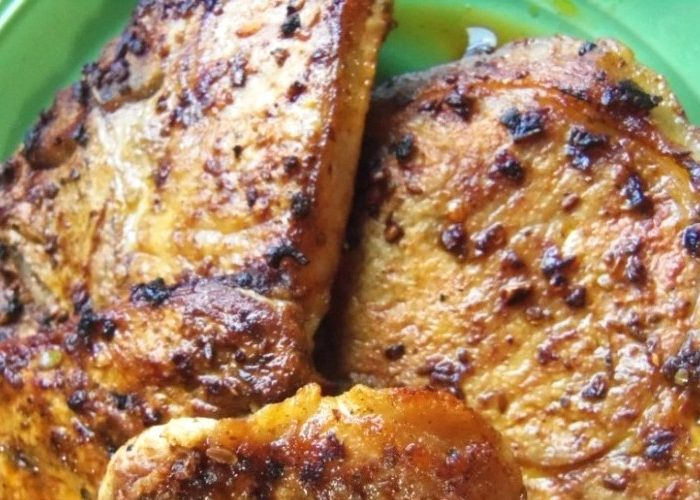 Marinated Pork Chops With Annatto, photo by Sonia Mendez Garcia