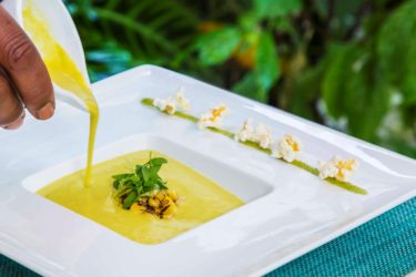 Roasted Corn Pasilla Soup, photo by Hispanic Kitchen