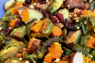 Roasted Poblano Harvest Vegetable Medley, photo by Sonia Mendez Garcia