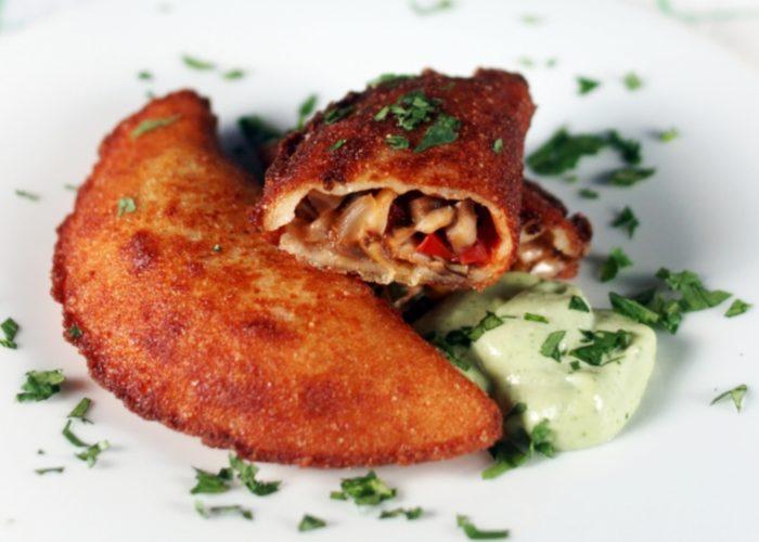 Shiitake Mushroom Empanadas, photo by Mercedes Golip