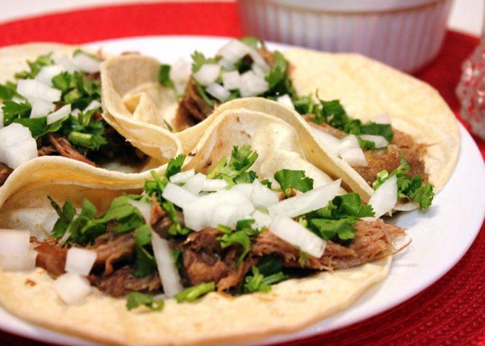 Tacos de Barbacoa de Lengua de Res (Beef Tongue Tacos), photo by Mely Martinez