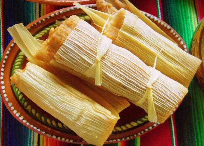 Tamales de Cerdo y Chile Colorado, photo by Sonia Mendez Garcia