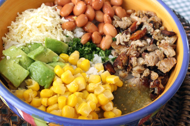 Mexican Turkey Leftover Bowl Hispanic Kitchen Hispanic