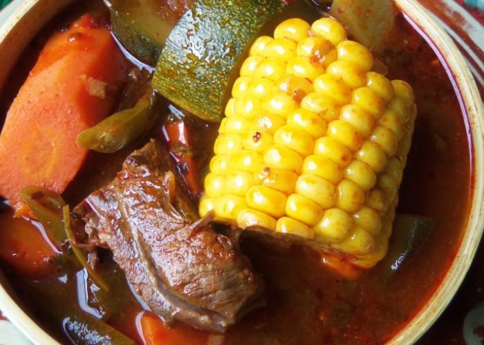 Mole de Olla Soup, photo by Sonia Mendez Garcia