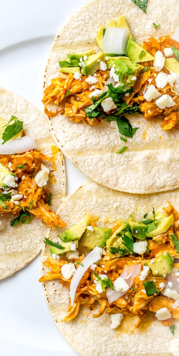 Chicken Tinga Tacos - Hispanic Kitchen : Hispanic Kitchen