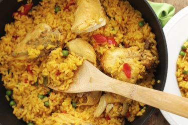 Traditional Arroz con Pollo