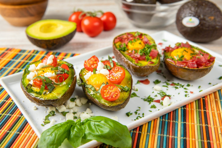 Baked Avocado Eggs, photo by Avocados From Mexico