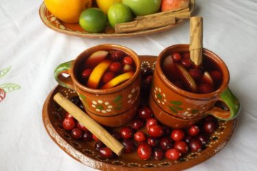 Ponche Caliente (Warm Holiday Punch), photo by Sonia Mendez Garcia
