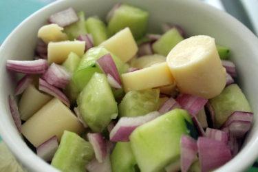 Aguachile de Palmito (Palm Heart Salad), photo by Hispanic Kitchen
