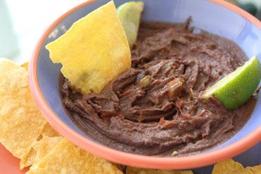 Creamy Jalapeño Bean Dip