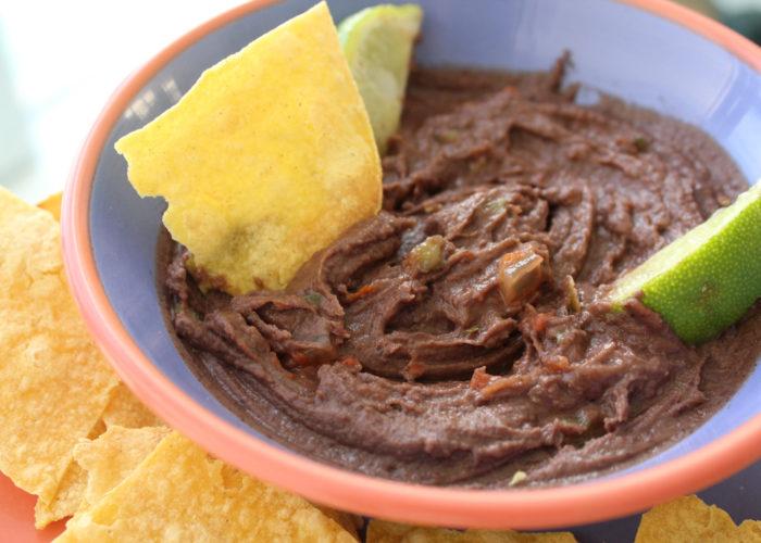Creamy Jalapeño Bean Dip, photo by Hispanic Kitchen