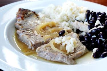 Cuban-Style Roast Pork Shoulder (Pernil Cubano)