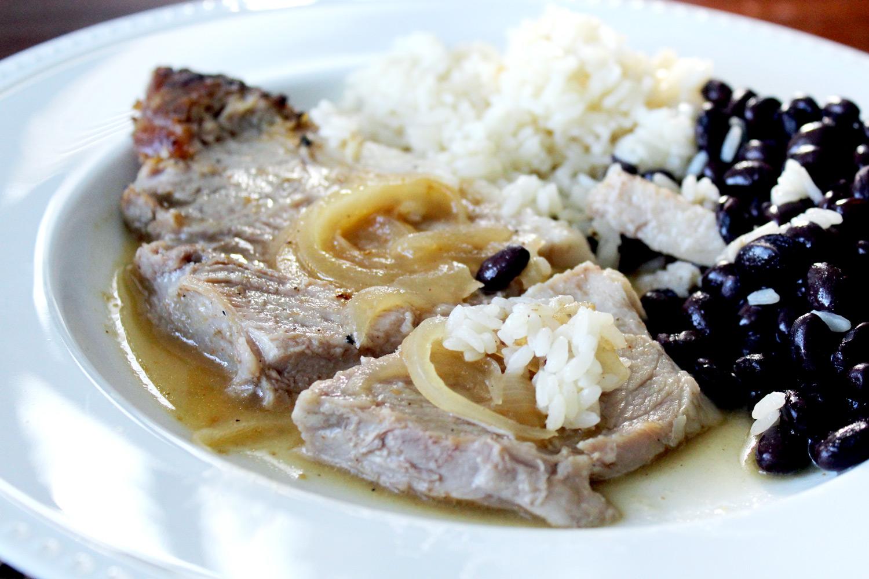 Cuban Style Roast Pork Shoulder Pernil Cubano Hispanic