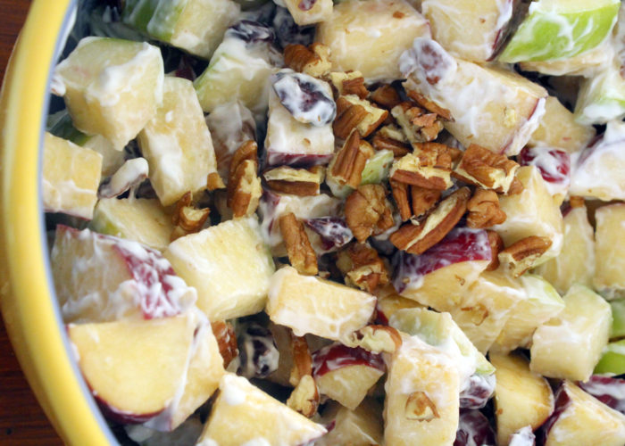 Ensalada de Fruta Con Nuez (Mexican Fruit Salad), photo by Sonia Mendez Garcia