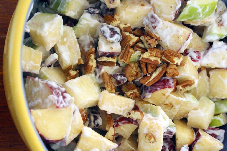 Ensalada de Fruta Con Nuez (Mexican Fruit Salad)