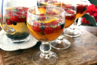 Spicy (and Non-Spicy) Champagne Sangria