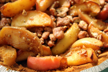 Pie de Manzana Picante (Spicy Apple Pie)