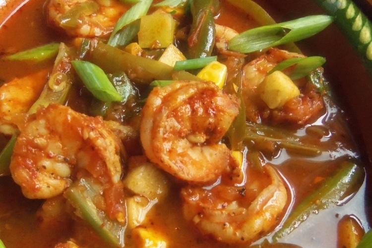 Caldo de Camarones (Shrimp and Vegetable Soup)