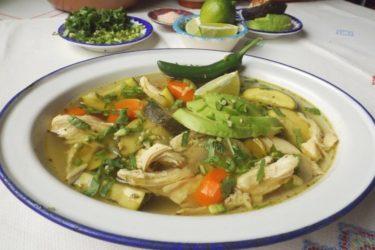 Caldo de Pollo (Slow Cooker Mexican Chicken Soup)