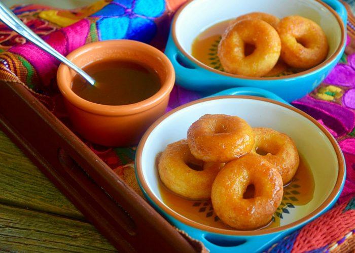 Nuéganos de Yuca (Honduran-Style Yuca Fritters), photo by Suellen Pineda, RDN, CDN