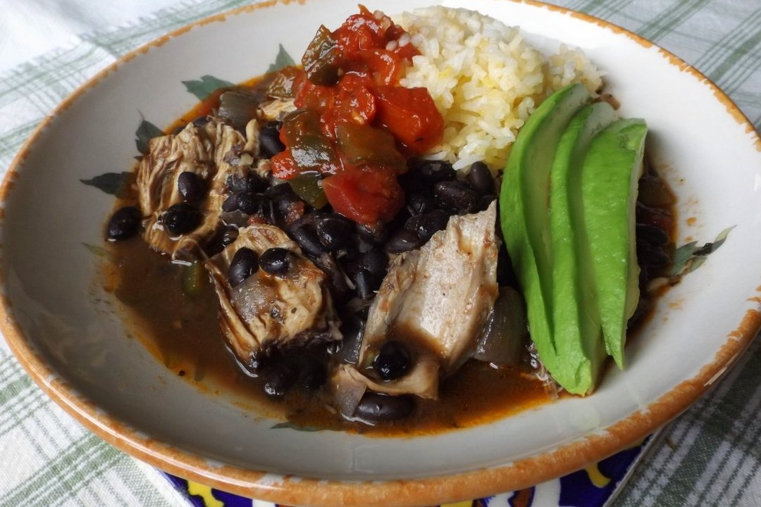 Smoky Chicken and Black Beans