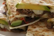 Cheesesteak Quesadillas With Hass Avocado