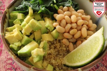 Smoky Avocado Quinoa Breakfast Bowl, photo by Hispanic Kitchen