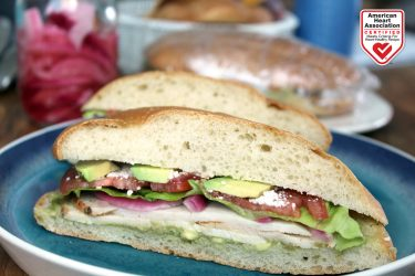 Savory Turkey Torta with Spicy Avocado Salsa, photo by Fresh Avocados - Love One Today