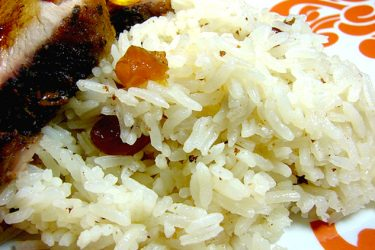 Arroz con Coco (Coconut Rice), photo by Anamaris Cousins Price