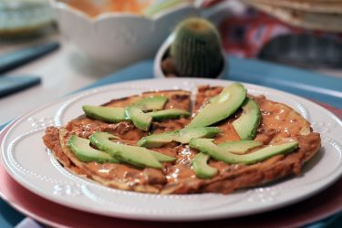 Quick N' Easy Breakfast Quesadillas, photo by Fernanda Alvarez