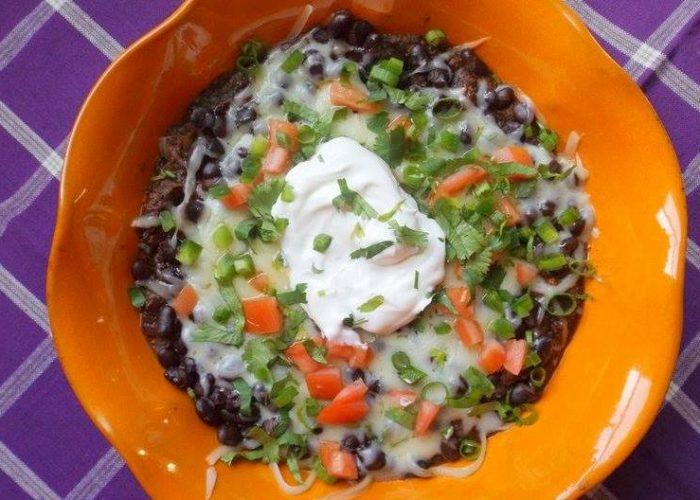 Spicy Black Bean Dip, photo by Sonia Mendez Garcia
