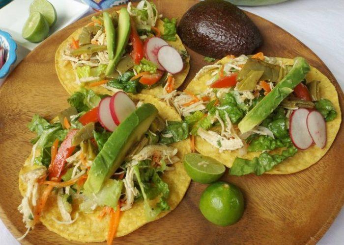 Salpicón de Pollo (Mexican Chicken Salad), photo by Sonia Mendez Garcia