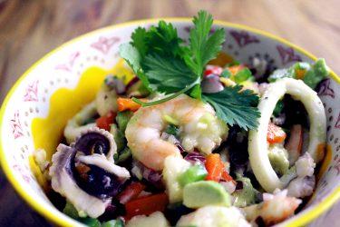 Seafood Salpicón (Seafood Salad)